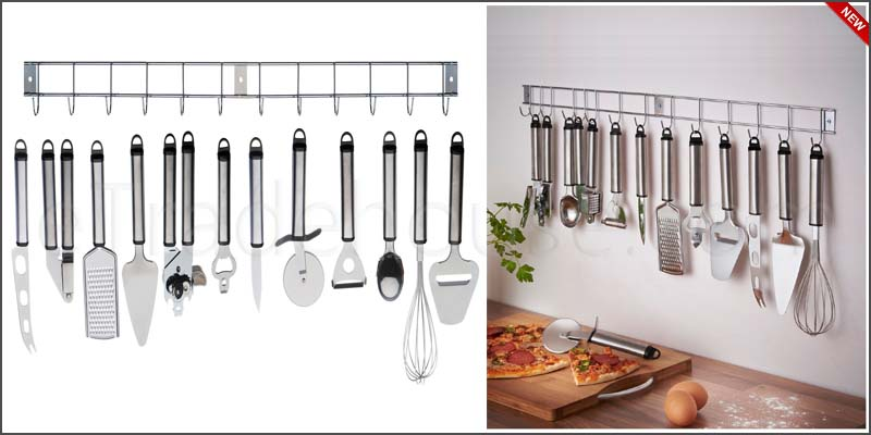 12 Piece Stainless Steel Kitchen Utensil & Gadget