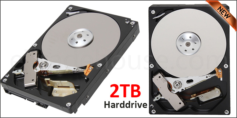 2 TB Hard Drive for DP5 DVR XVR