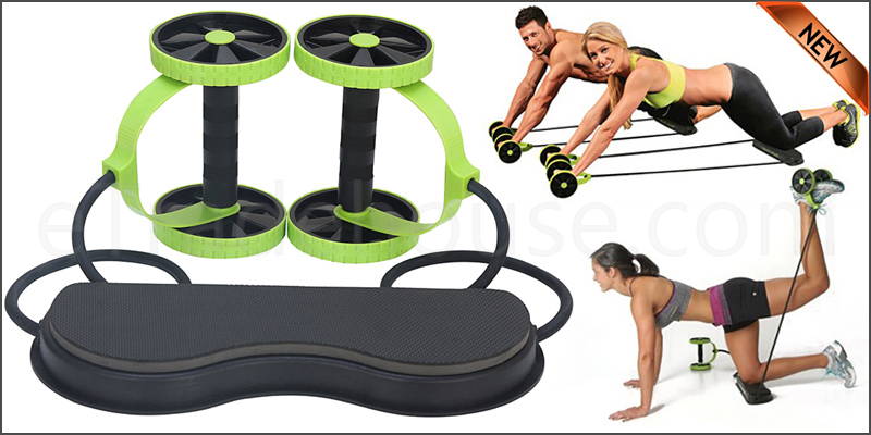 Total, Body, Workout, Exercise, Wheel, Gym, Fitness, Machine, Body, Strength, Training, Rol