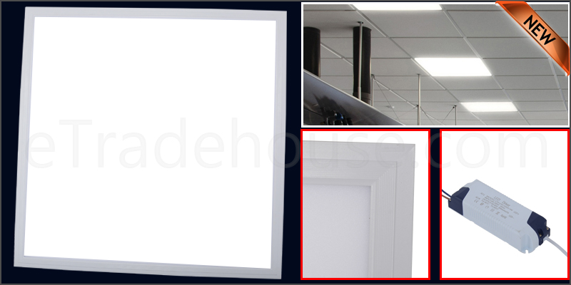 48W Ceiling Suspended Recessed LED Panel White Light