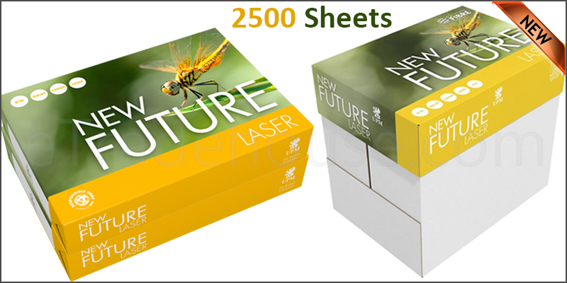2500 Sheets White A4 Quality 80gsm Copier Printer Paper Office Papers Box