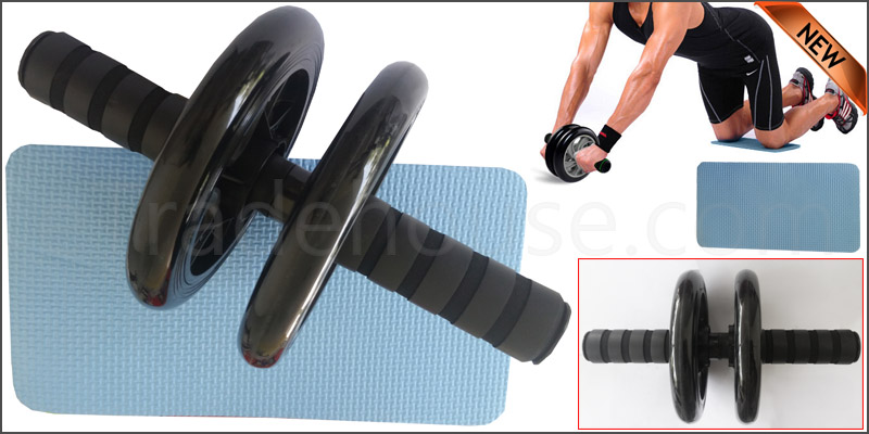 Abdominal (ABS) Toning Roller Wheel Body Exerciser