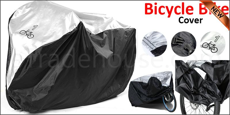 Waterproof Rust Prevention Cycle Bicycle Bike Rain Resistant Cover Garage
