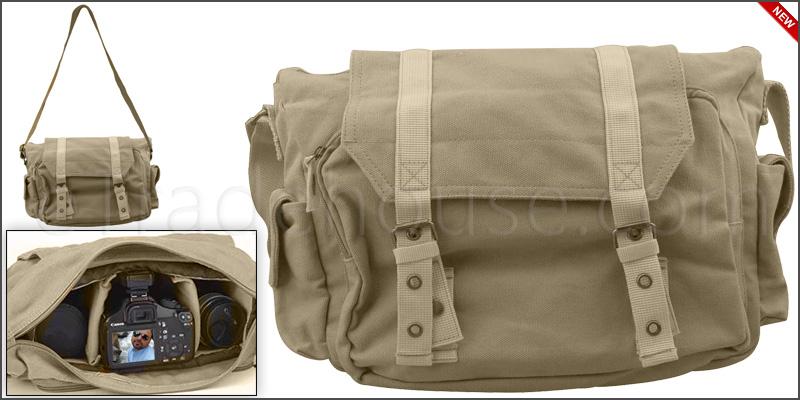 Canvas Shoulder Case Messenger Bag For Digital Son