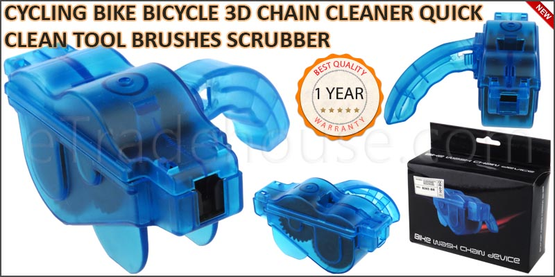 CYCLING BIKE BICYCLE 3D CHAIN CLEANER QUICK CLEAN
