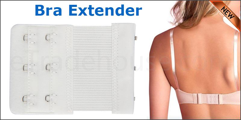 Bra Extenders 3 Hooks Elastic Bra Extension Straps Soft Comfortable for Women Ladies