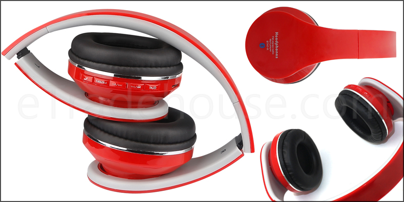 A pair of 3-in-1 Wireless Headphones with Bluetooth and a TF Card