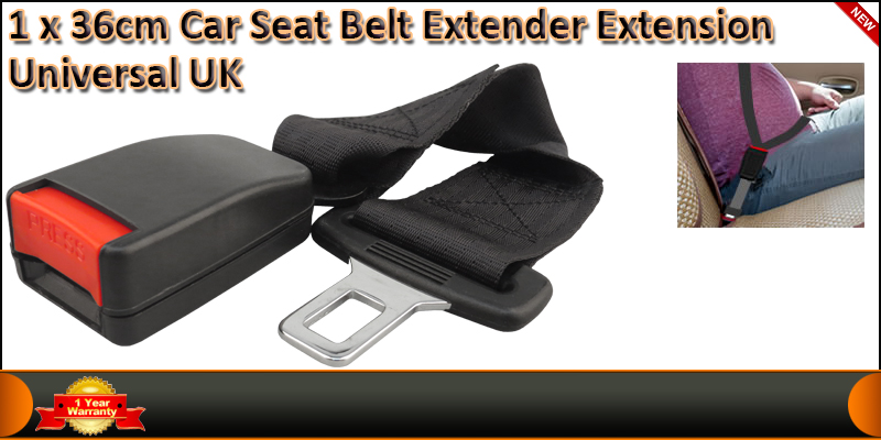36cm Car Seat Belt Extender Extension Universal Fo