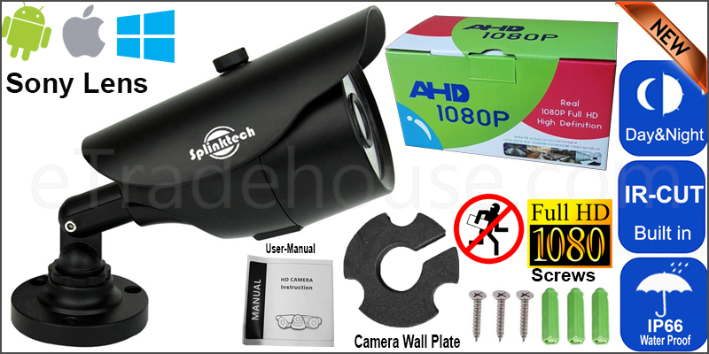 2.4MP Sony CCTV 4IN1 Bullet 1080p Camera 128AHD NIGHT VISION WITH UTC FUNCTION