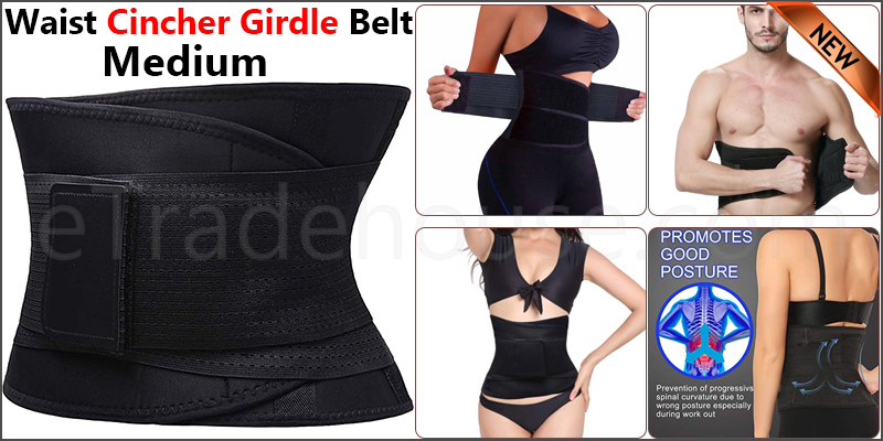 Waist Cincher Girdle Belt Body Shaper Tummy Trainer Belly Training Corsets