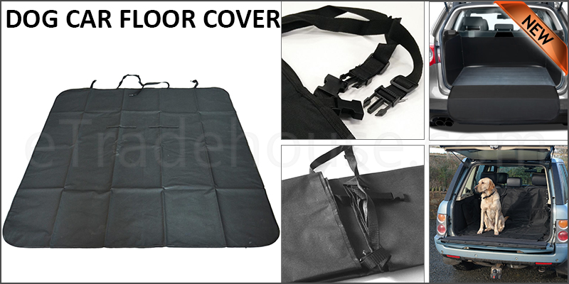 Large Heavy Duty Waterproof Car Boot Liner Protector Dirt Pet Dog Floor Cover