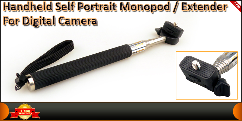 Extendable telescopic handheld Self Portrait Monop