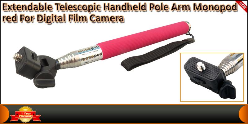 Extendable telescopic handheld Self Portrait Monop