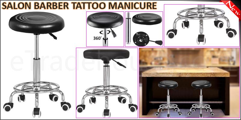Salon Beauty Massage Stool Styling Hairdressing Ba