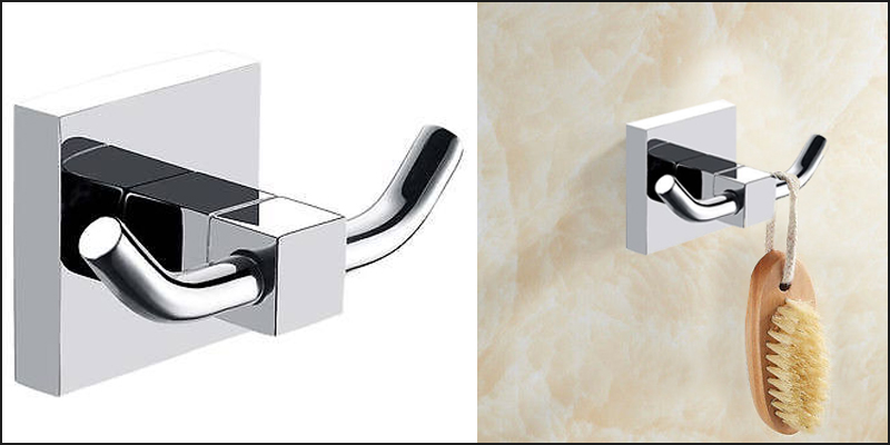 Bathroom Accessory - Double Towel Robe Hook