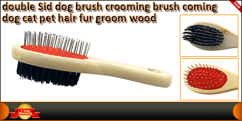 Double Sided Dog Brush Grooming Brush Combing Dog