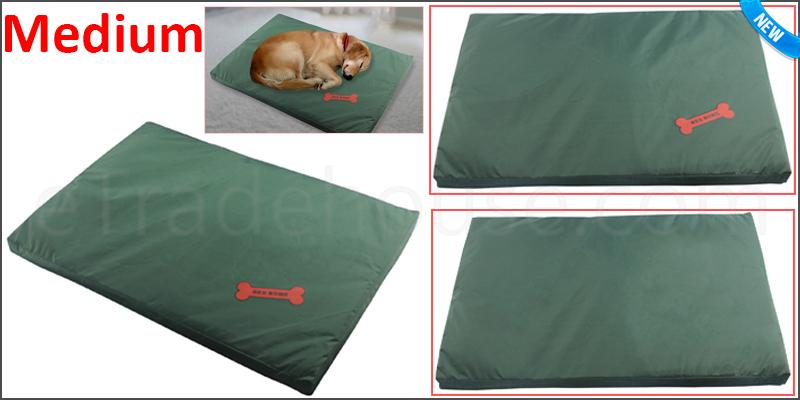 Waterproof Dog Bed Medium Washable Cover Pet Cat Mat Pad Cushion