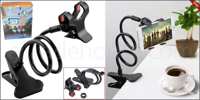 Long Arm Mount Holder Stand For Mobile Smart Phone