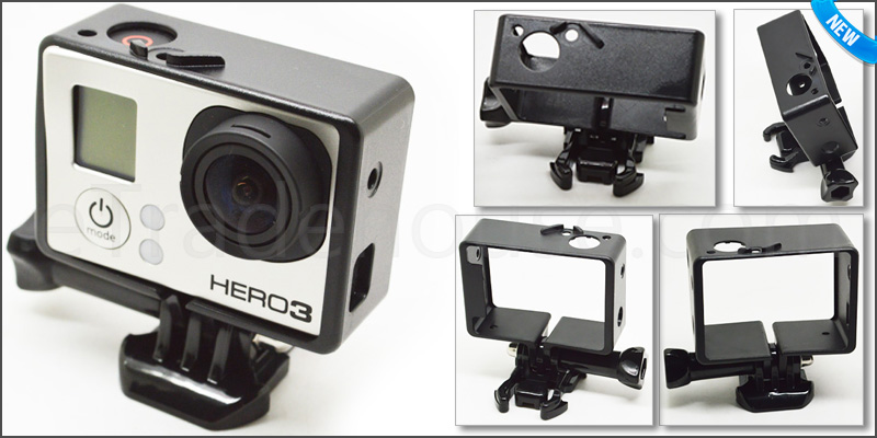 Standard Frame Mount for GoPro Hero 3, 3+ & 4 Came