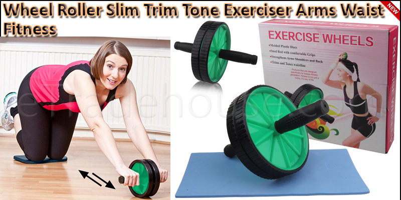 Abdominal (ABS) Roller Wheel Body Exerciser with K