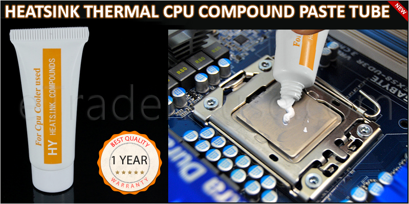 High Quality Heat Sink Thermal CPU Compound Paste