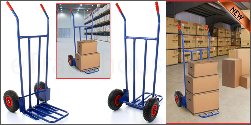 600LB Heavy Duty Sack Truck Industrial Warehouse H