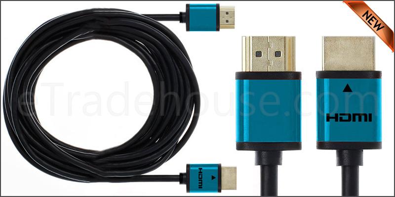 Premium Quality Slim 5 Meter HDMI V1.4 (19Pin) Male