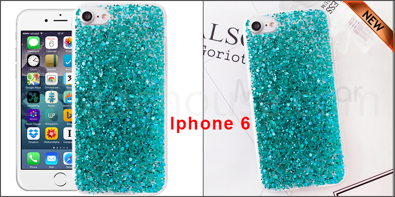 Bling Silicone Glitter ShockProof Case Cover For Apple iPhone 6