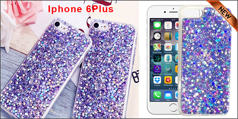 Bling Silicone Glitter ShockProof Case Cover For Apple iPhone 6 plus
