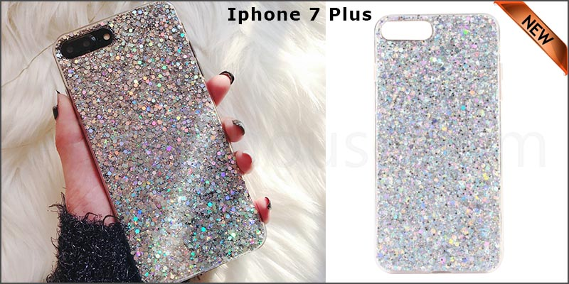 Bling Silicone Glitter ShockProof Case Cover For Apple iPhone 7 plus
