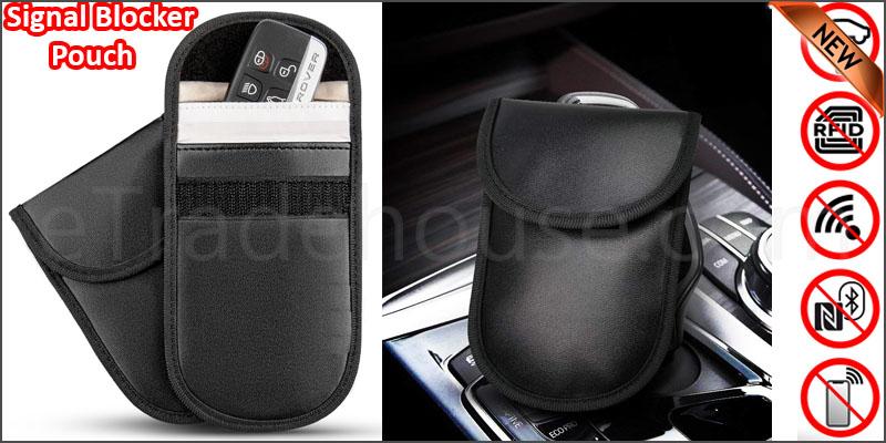 Car Key Signal Blocker Pouch