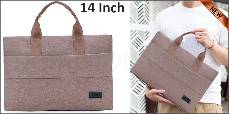 14 inch Laptop Notebook Sleeve Bag Cover Case For Apple MacBook Air Pro Beige color