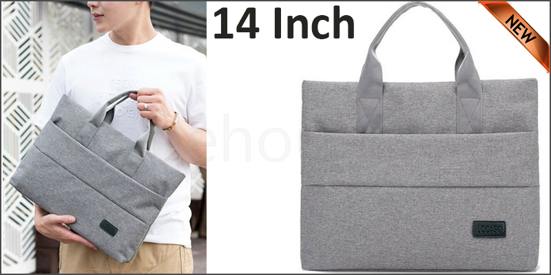 14 inch Laptop Notebook Sleeve Bag Cover Case For Apple MacBook Air Pro Gray color