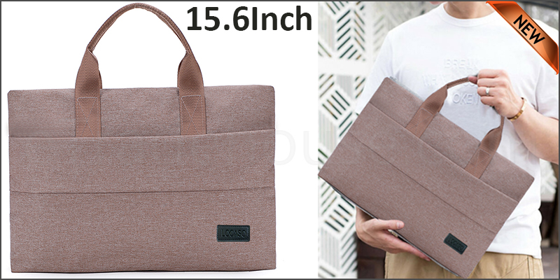 15.6 inch Laptop Notebook Sleeve Bag Cover Case For Apple MacBook Air Pro Beige color