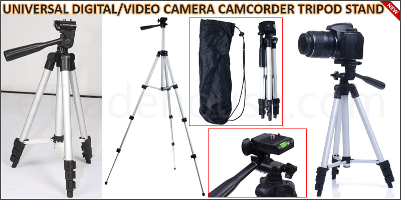 UNIVERSAL DIGITAL/VIDEO CAMERA CAMCORDER TRIPOD ST