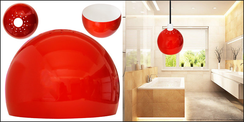 Metal Dome Retro Style Ceiling Pendant Light Lampshades