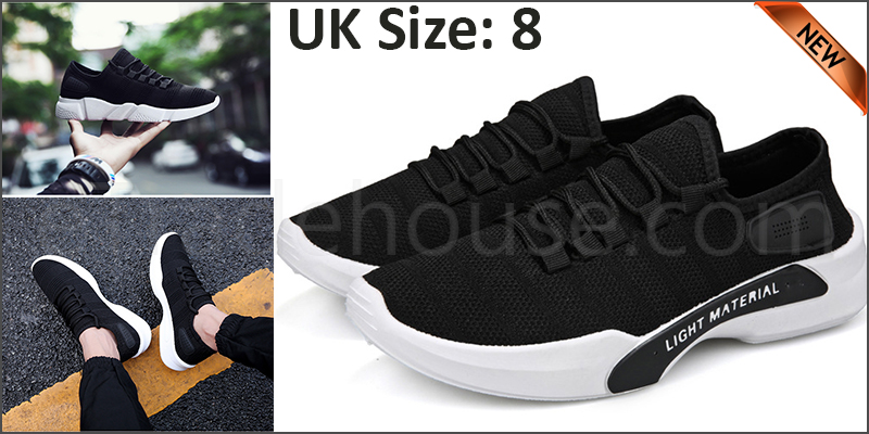 Men's Training Running Shoes Outdoor Fitness Sports Jogging Breathable Sneakers