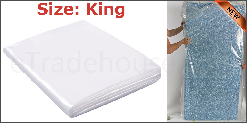 King Size Bed Mattress Bag Heavy Duty Dust Protector Storage Cover