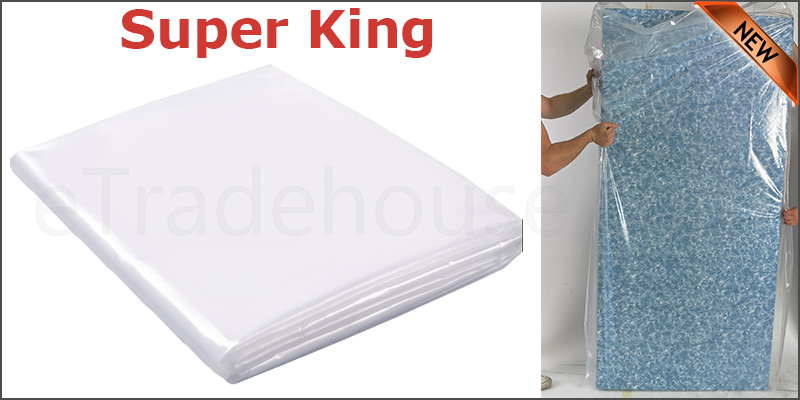 Super King Size Bed Mattress Bag Heavy Duty Dust Protector Storage Cover