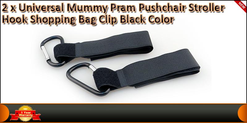 2 x Universal Mummy Buggy Pram Stroller Pushchair