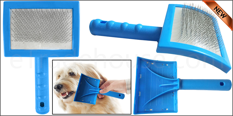 Dog Puppy Cat Pet Hair Shedding Grooming Trimmer C