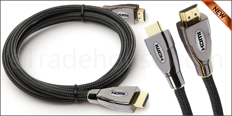 Premium 3 Meter V2.0 HDMI Cable Gold High Speed HD