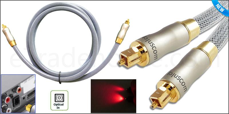 1.5 Meter Platinum Optical Cable Digital Audio Lea