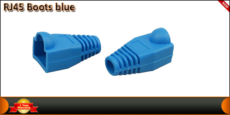 RJ45 Connector Boot Blue