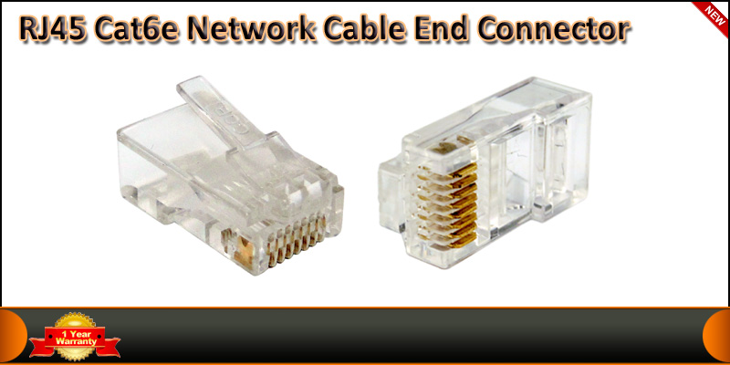 RJ45 CAT 5 Cat6 Modular Plug Network Connector