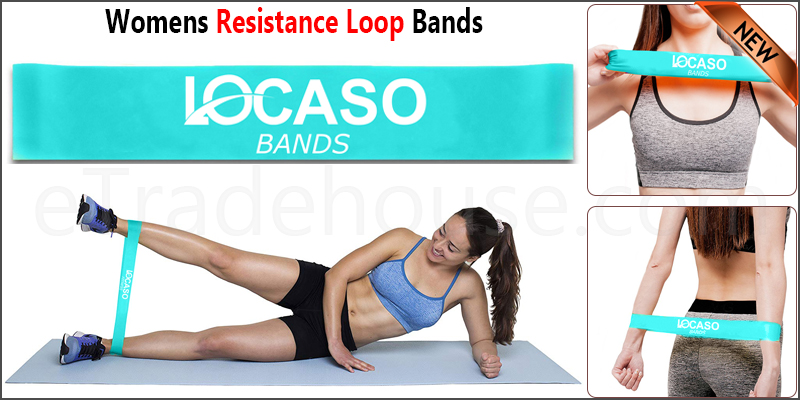Resistance Loop Bands 30cm Glutes | Leg | Yoga | Pilates | Gym | Exercise