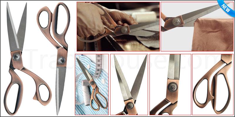 "9.5"" Stainless Steel Tailoring Scissors Dressmakin"