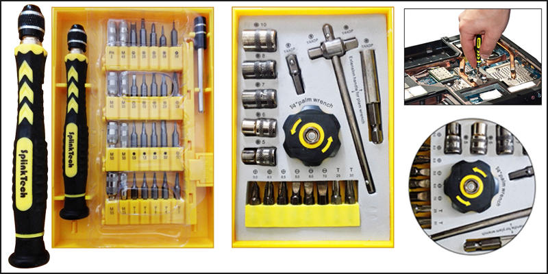 Multi-Purpose Professional Precision Hand Tools Screwdriver Set