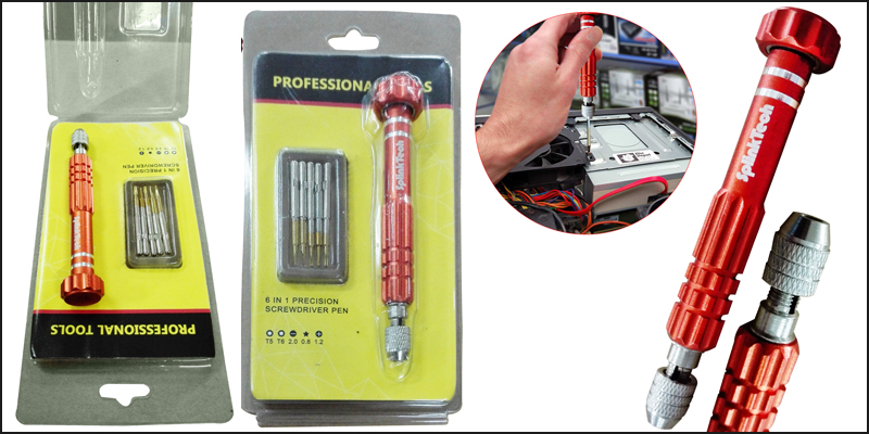 6 in 1 Precision Screwdriver Pen