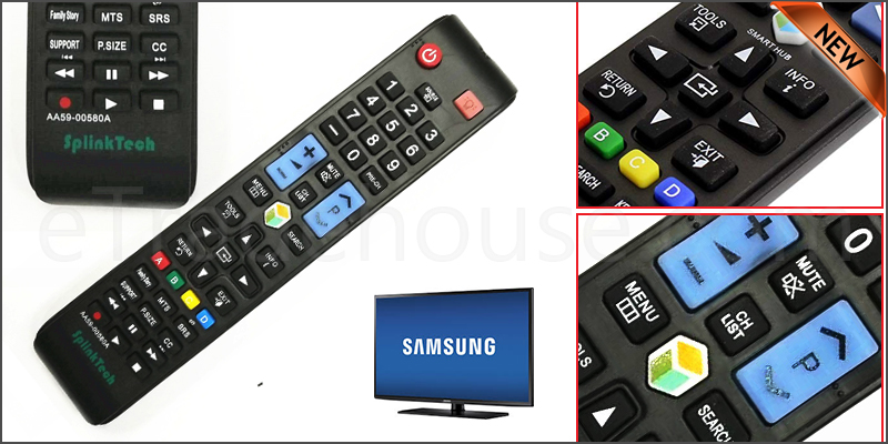 Replacement Remote Control For Samsung 3D SMART TV 2008 -2016 MODELS